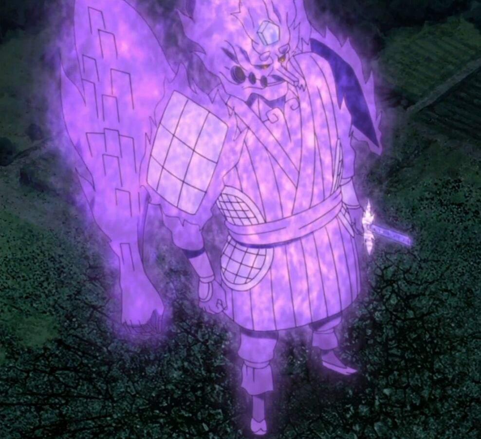 Naruto (Ashura Mode) vs Sasuke (Indra's Perfect Susanoo