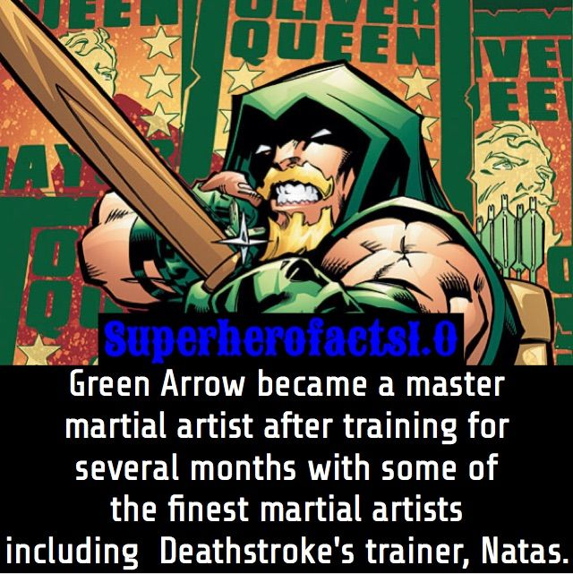 green arrow fact comics amino