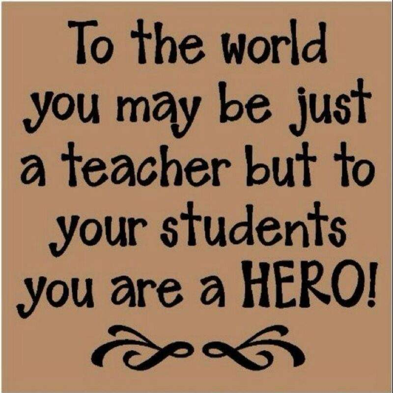 what would the world be without teachers