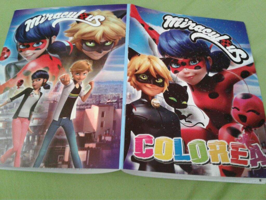Cuadernos de colorear | •Miraculous Ladybug Español• Amino