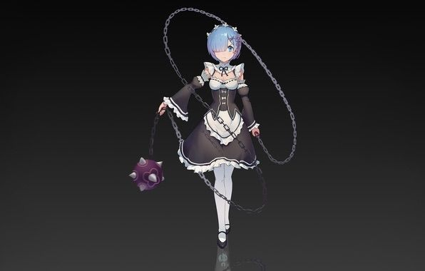 rem s medieval flail weapon cosplay amino