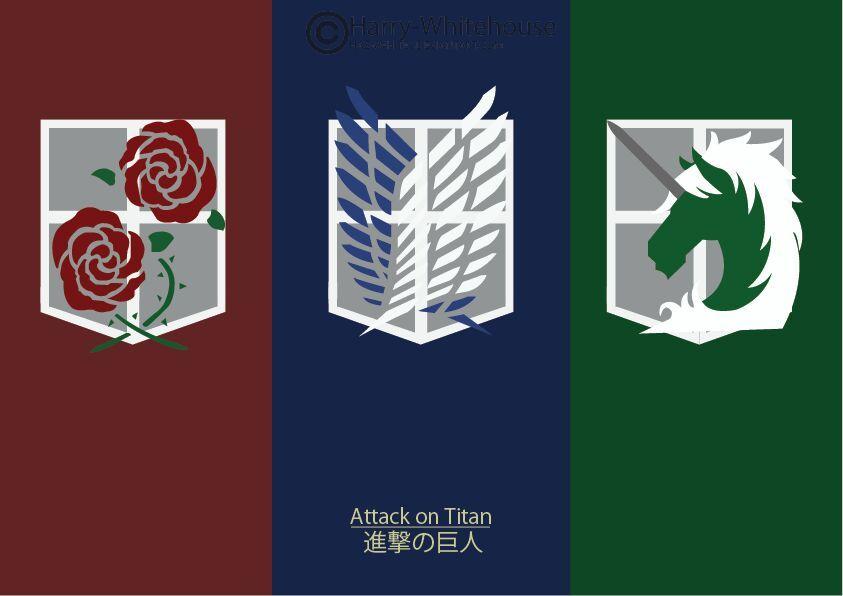 Shingeki No Kyojin Garrison Logo