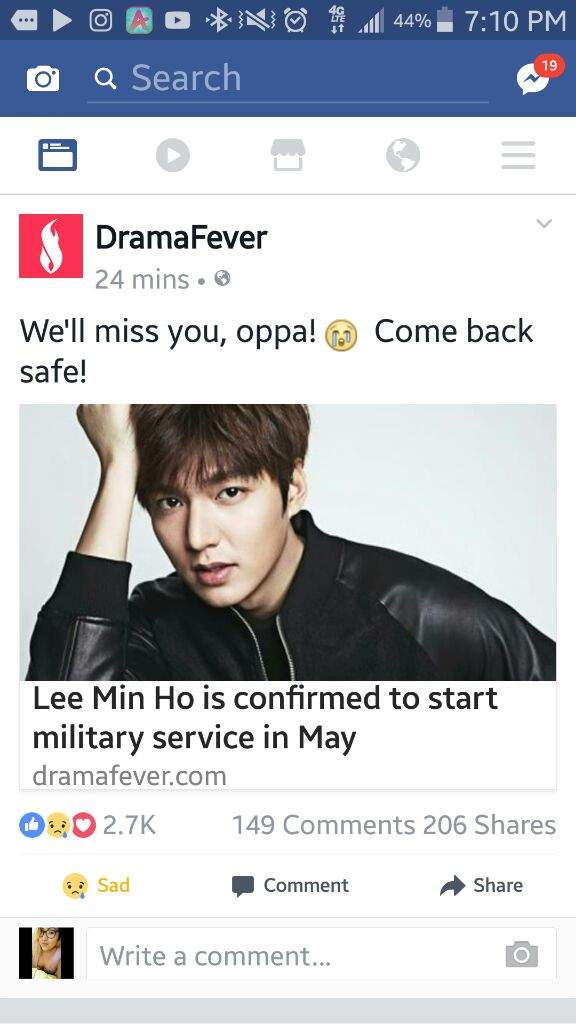 😢LEE MIN HO MILITARY NEWS REACTION😢 | K-Drama Amino