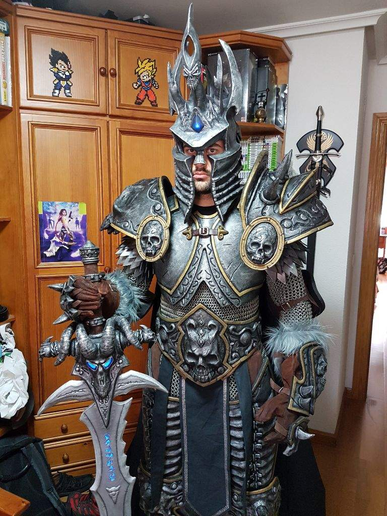 & Arthas Lich King motion Test | Cosplay Amino