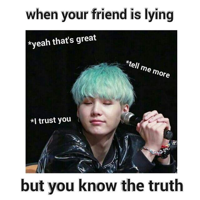 how to know if your friend is lying
