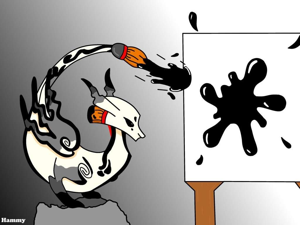 Sumi Dragon Art Dragonvale Amino