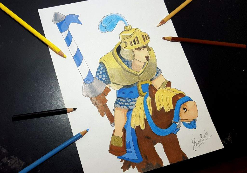 Como Dibujar Al Principe Oscuro: Dibujo Del PRINCIPE De Clash Royale