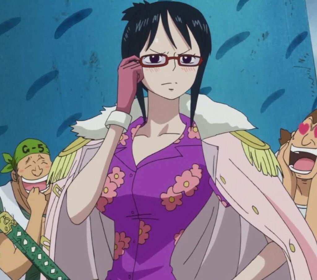 Post Time Skip Tashigi vs Pre Time Skip Smoker | One Piece ...