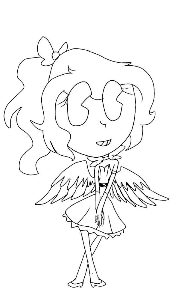 alice angel coloring pages | Alice Angel Pages Coloring Pages