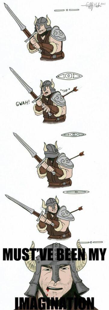 Elder Scrolls Memes. Best Collection of Funny Elder ...  Elder Scrolls Memes