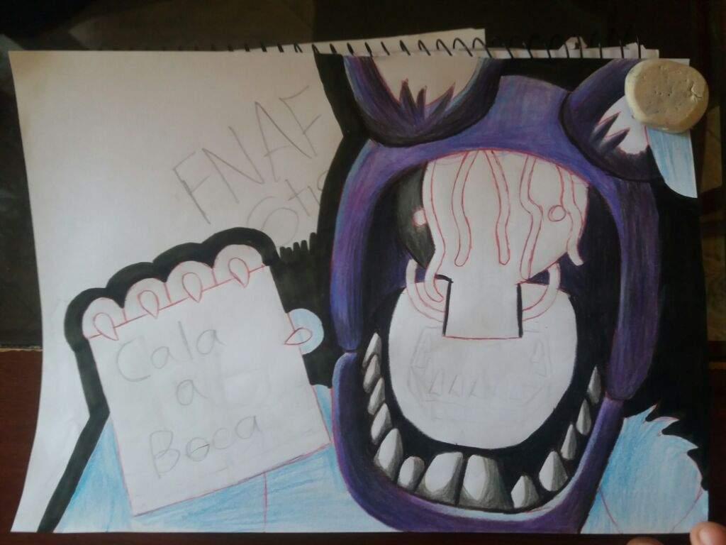 Fnaf 2 Drawings amino withered bonnie • fnaf 2 • drawing   five nights at