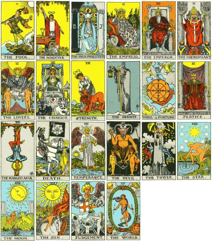 Image result for major arcana