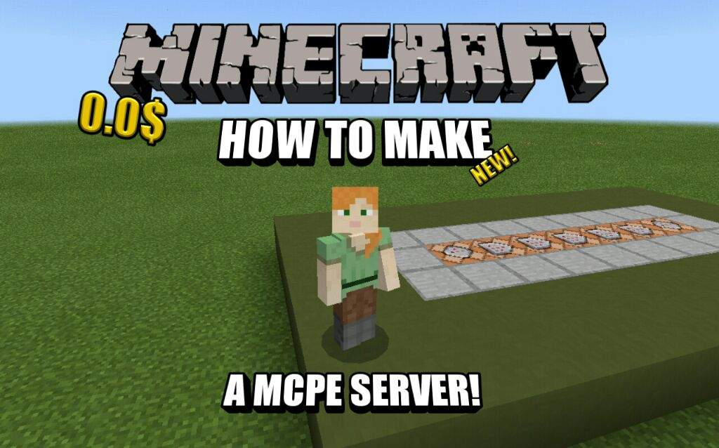🚨HOW TO MAKE A FREE MCPE SERVER! - 30 players | Minecraft Amino