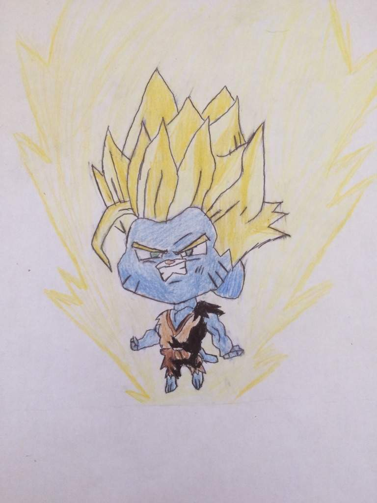 Gumball The Super Saiyan Dragonballz Amino