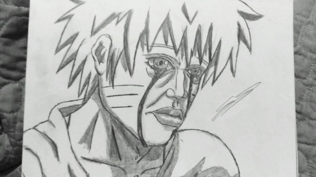 Sad naruto in my art style | Anime Amino