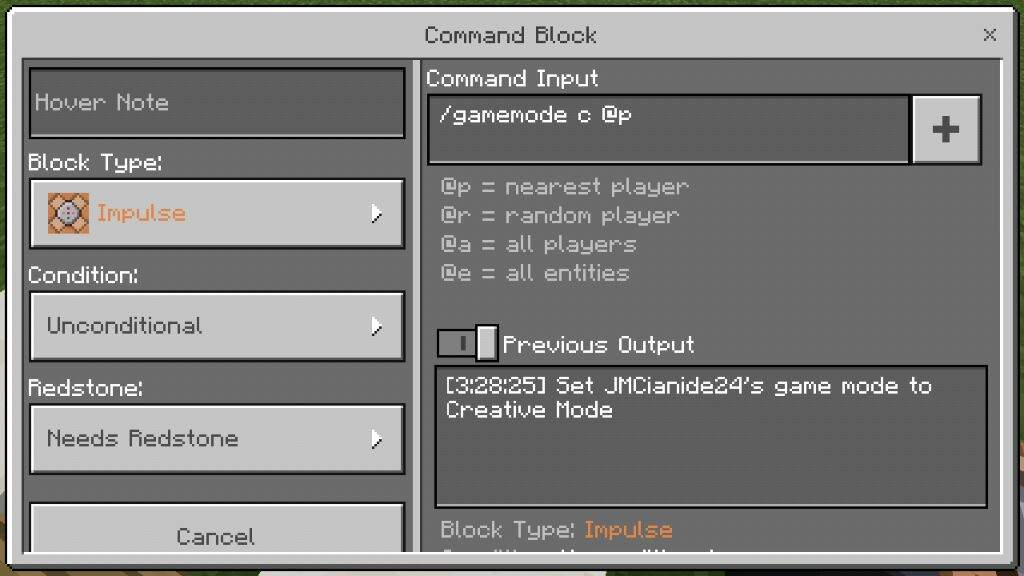 Simple Commands For Command Blocks Minecraft Amino