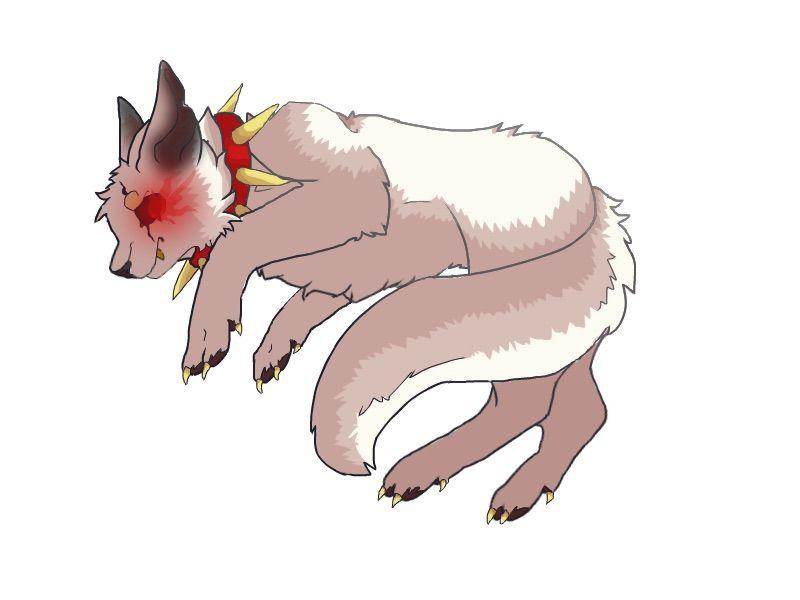 Underfell sans as a wolf | Undertale Amino