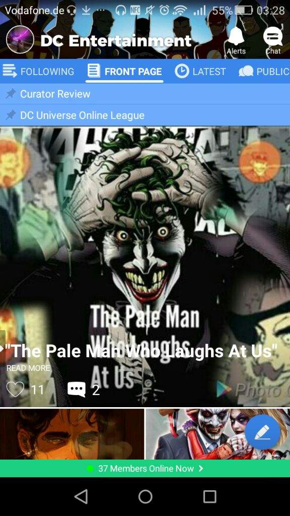 The Pale Man Who Laughs At Us Dc Entertainment Amino