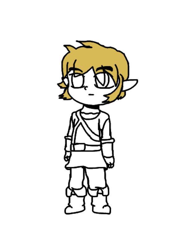 Dibujo Digital | Link Breath of the Wild | Zelda Amino En Español Amino