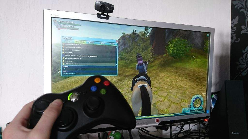 Playing with controller | Star Stable Online Amino