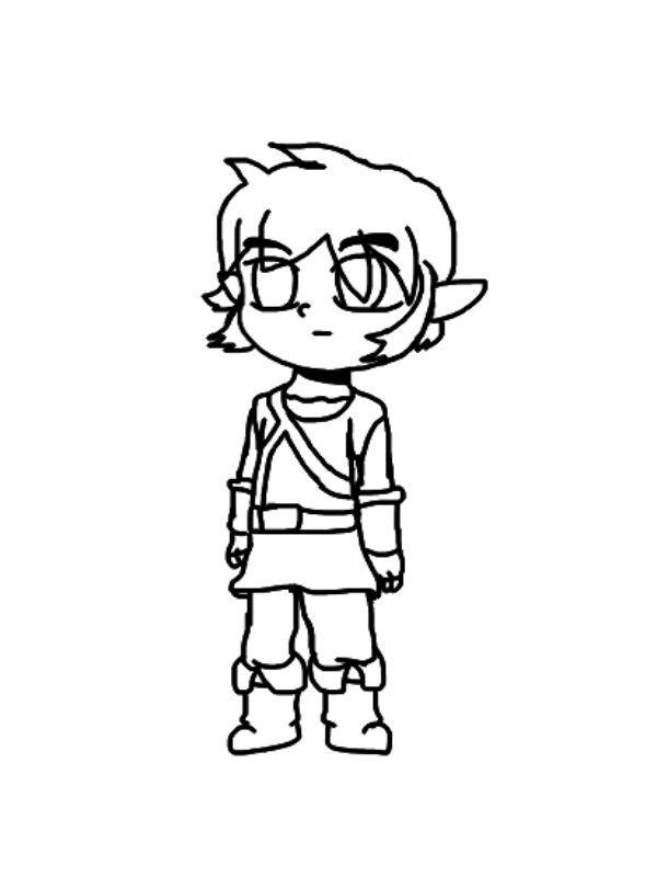 Dibujo Digital Link Breath Of The Wild Zelda Amino En Español Amino