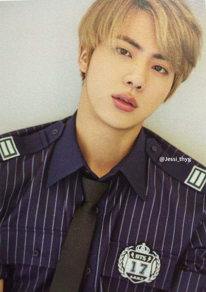 Honestly I Think Blonde Looks Best On Jin Among The All Of BTS Its Totally Unbiased Thought