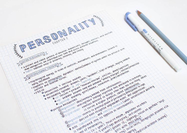 the study of handwriting