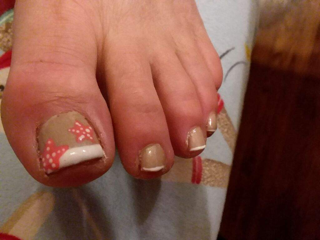 Starfish Pedicure Nail Art Amino