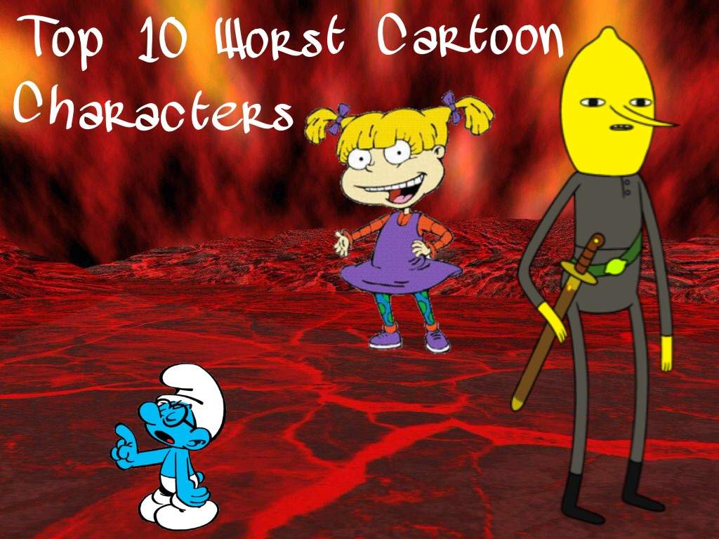 Top 5 Cartoon Characters Of All Time : Top ten worst cartoon characters of all time adultcartoon