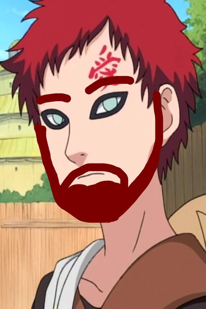 Gaara S Facial Hair Boruto Amino