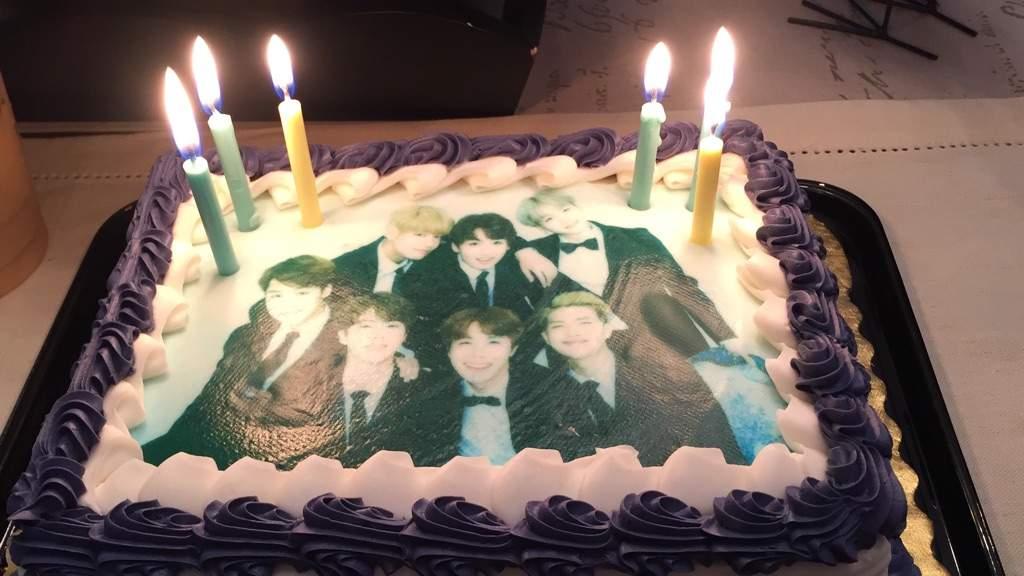 My Bts Birthday Cake Armys Amino