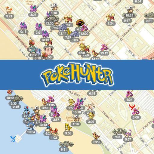PokeHuntr - Track Pokémon with a real time Pokémon Go Map! | Pokémon •GO•  Amino