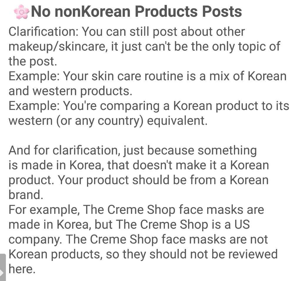 Unaccepted Brands Korean Beauty Amino