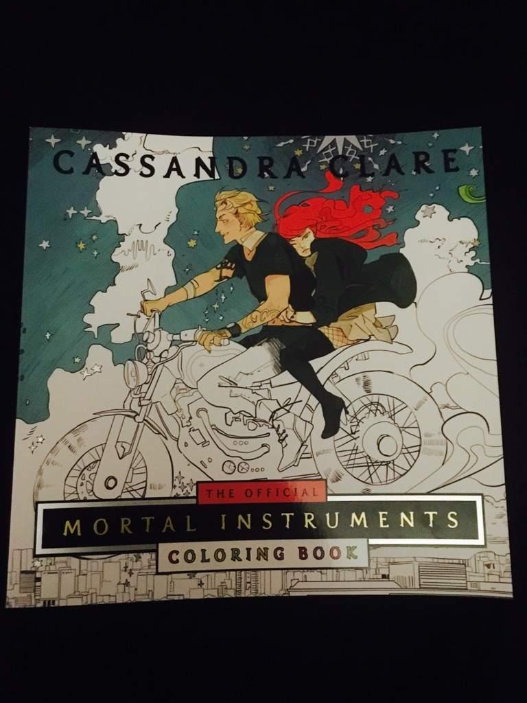 Mortal Instruments Coloring book