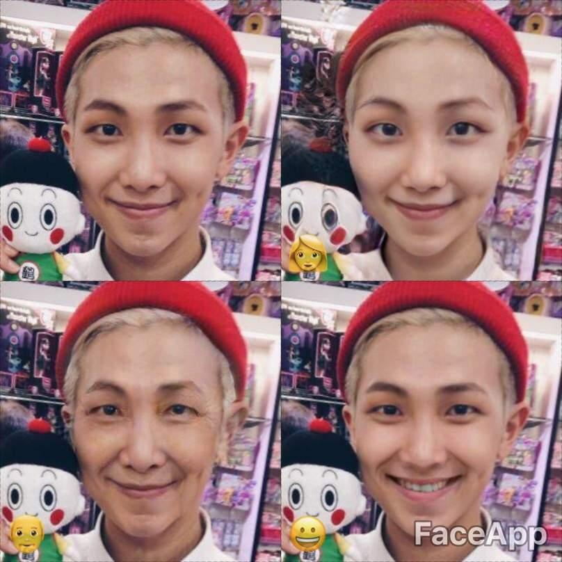 BTS - faceapp | ARMY's Amino
