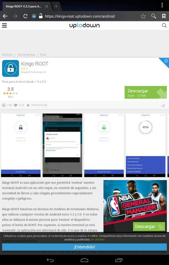 One Click Root Apk Uptodown