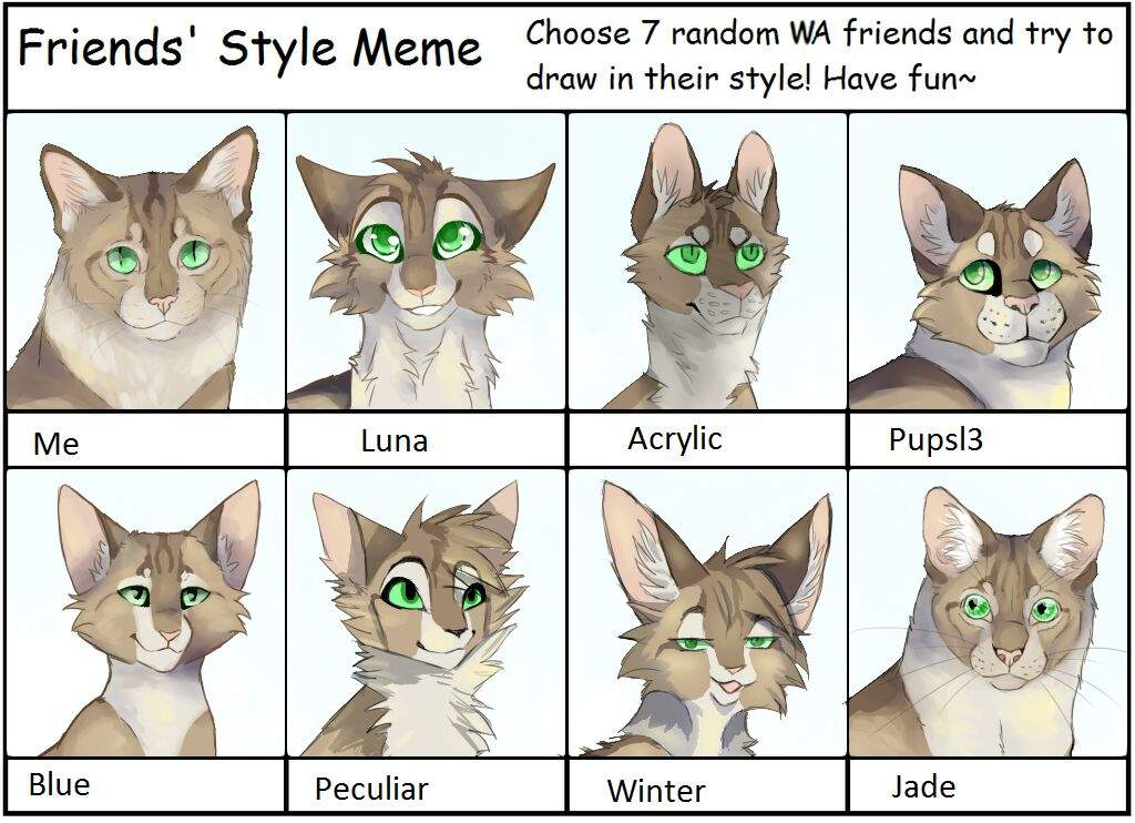 Friends Style Meme Warriors Amino
