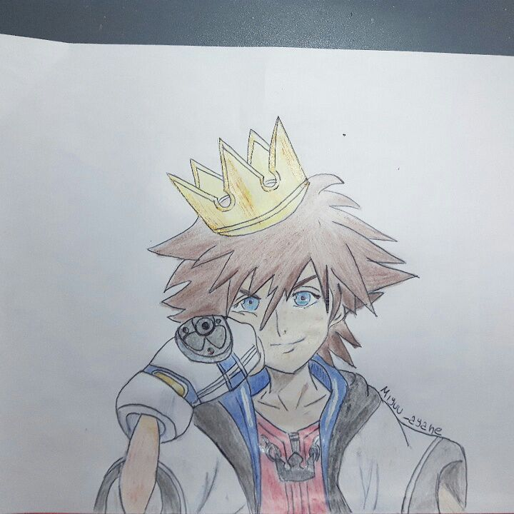 Sora S Drawing Kingdom Hearts Amino