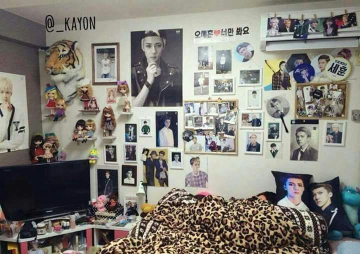 Pop Star Bedroom Ideas
