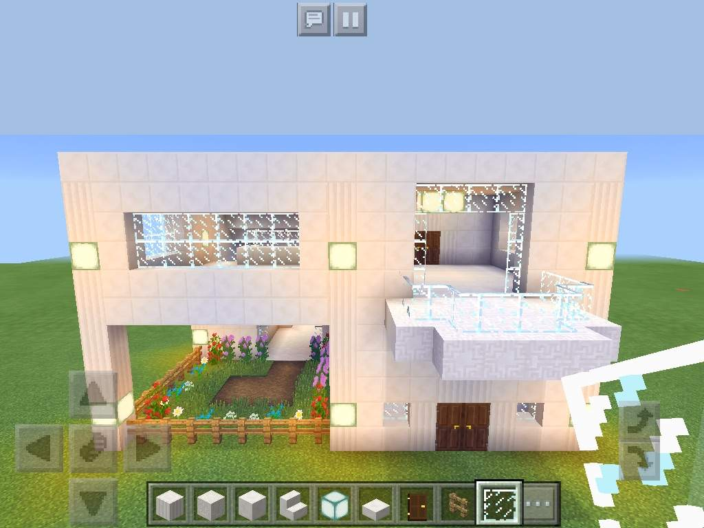 Modern House Build MCPE Minecraft Amino