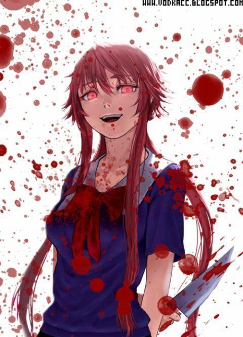 ・Top 10 Garotas Psicopatas Em Animes・
