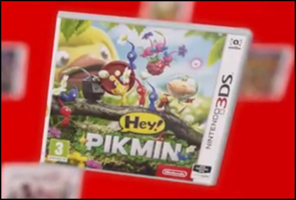 The New Uk Eu Possibly Japan Box Art For Hey Pikmin Game Pikmin Amino