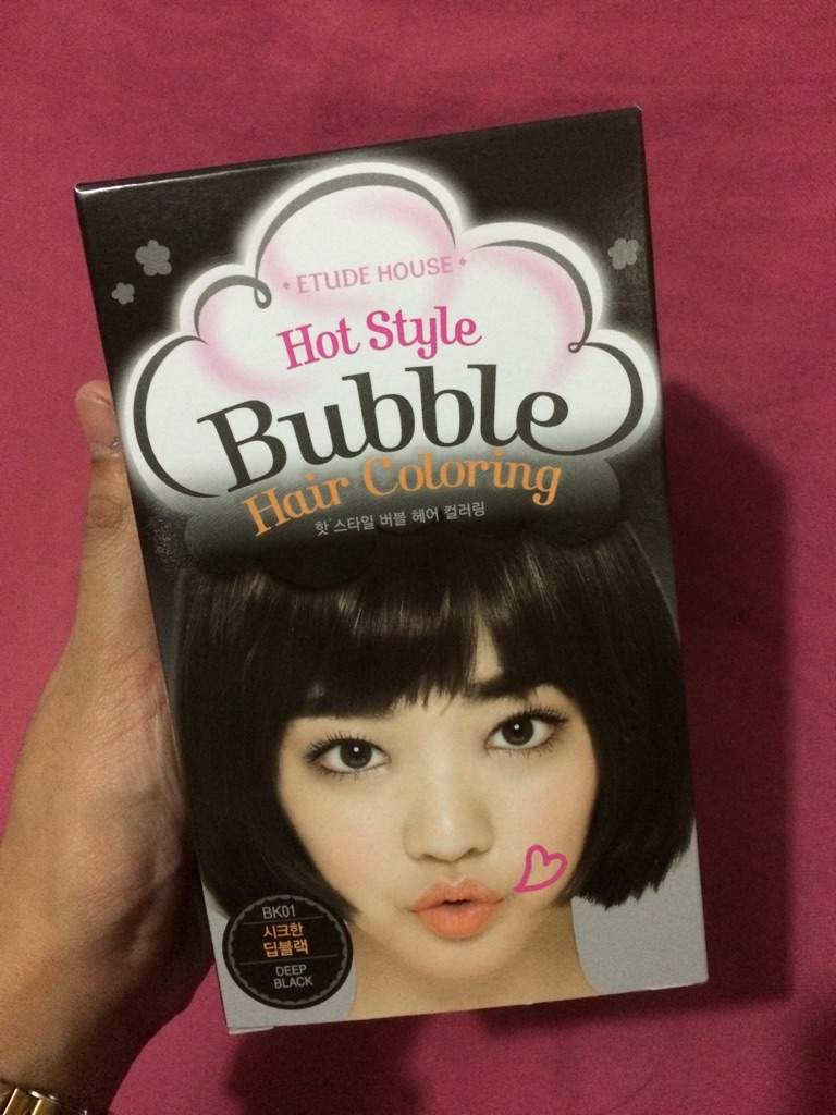 Etude House Hot Style Bubble Hair Coloring Review Korean Beauty Amino