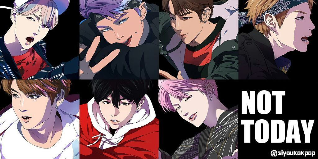 NOT TODAY Anime Version