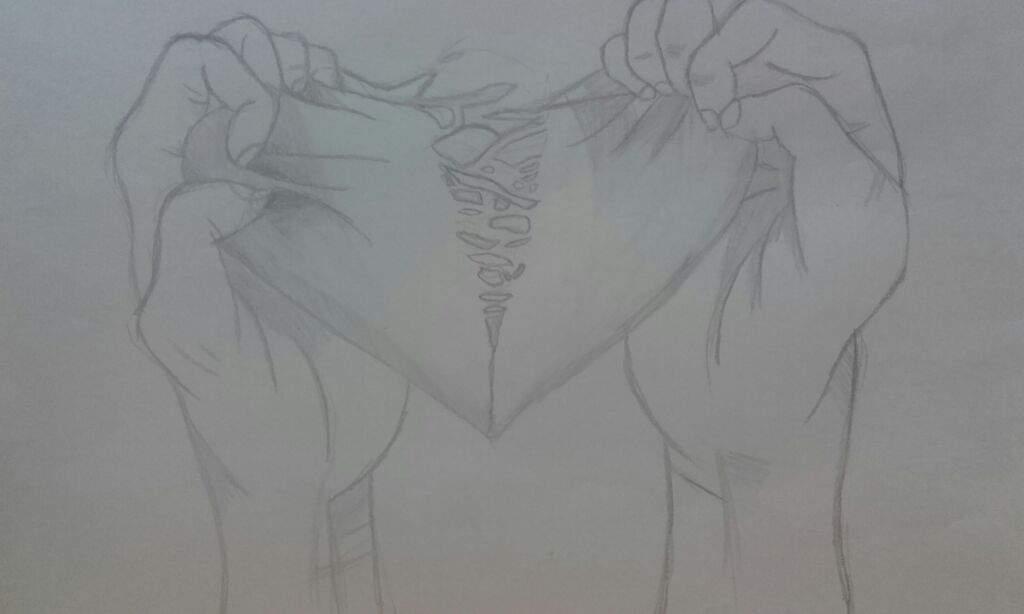 Con mi corazn en mano Significado de Un dibujo  Anime Amino