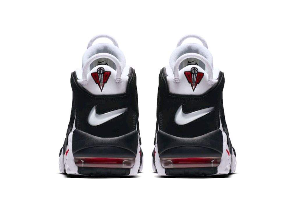 7d8059738b13 Immediately following the Supreme edition drops..another colorway of the  classic Uptempos is available. For this pair an all white leather base is  ...
