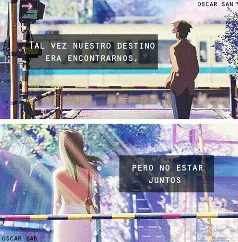 Frases Anime Amor Y Desamor Anime Amino