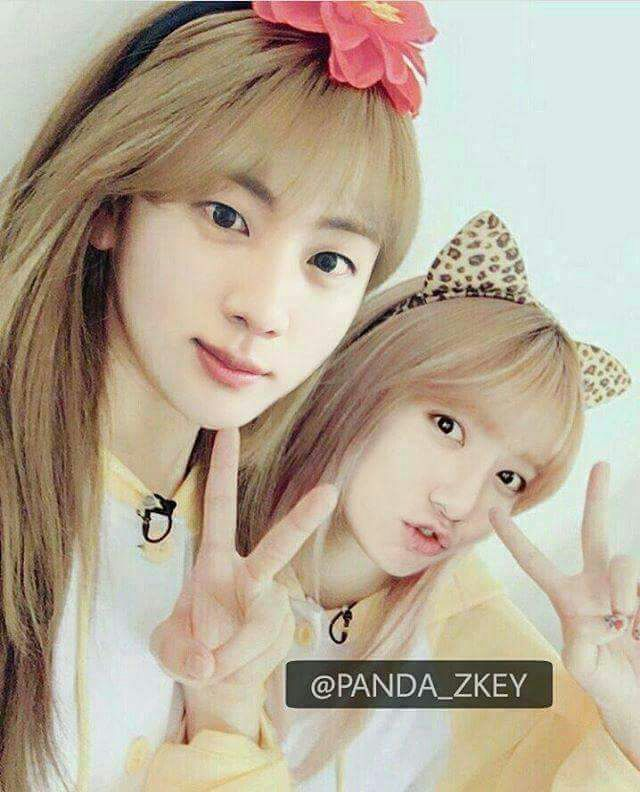 Bangtan Girls Bts As A Girl In Ig Panda Zkey Army S Amino