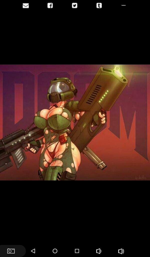 DooM Girl (Female) | ID Software Amino