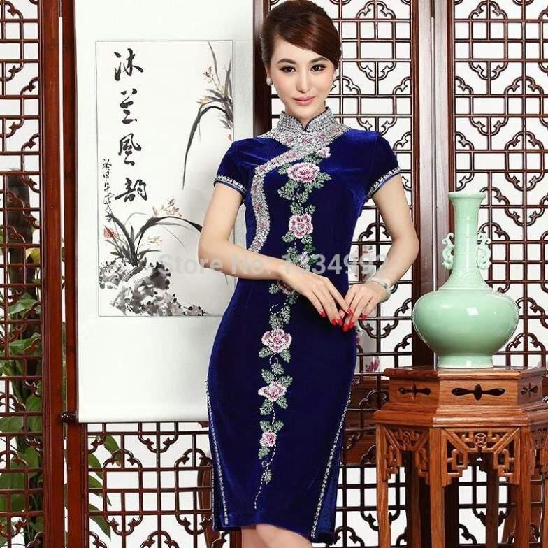 Vestidos elegantes cortos japoneses